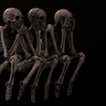 Kerstin Schütze - Drei Skelette