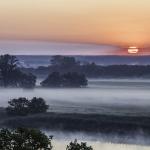 Morgenstimmung, Elbe