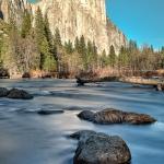 Yosemite Park ruhiges Wasser