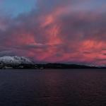 Sonnenaufgang über Harstad Günter Heurung