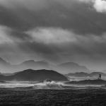 Sturmtag am Meer
