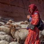 Berberfrau Marokko