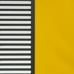 Marianne Schlüter Gelb und Streifen