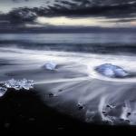 Bärbel Brechtel - Eis auf Lavastrand