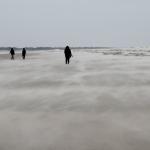 Gerhard Stöfer - Sandsturm auf Helgoland