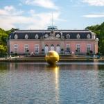 Schloss Benrath, goldene Kugel