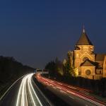 Juergen Stodt - A46 bei Nacht